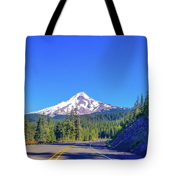 Tote Bag featuring the photograph Mountain Top by Jonny D