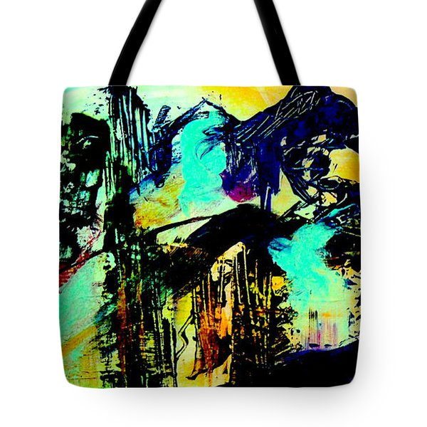 Mountain Top Spot Tote Bag