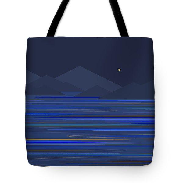 Mountain Tops Tote Bag