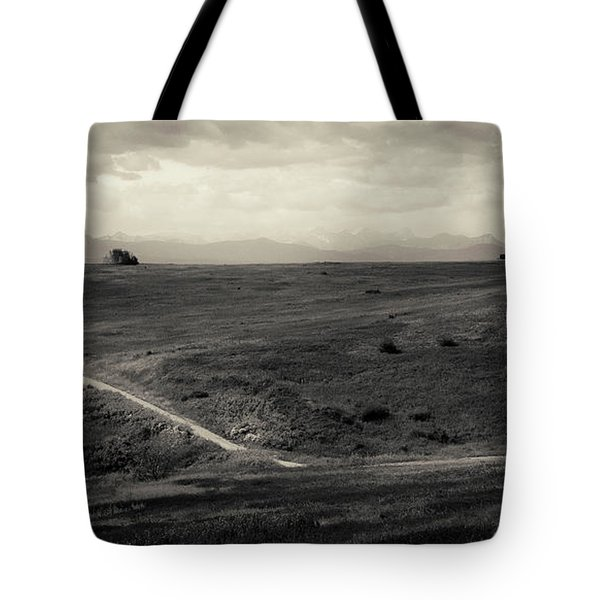 Mountain Trail Tote Bag