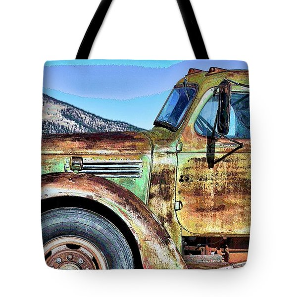 Mountain Truce Tote Bag