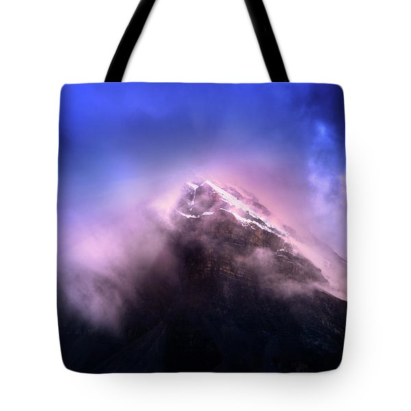Mountain Twilight Tote Bag