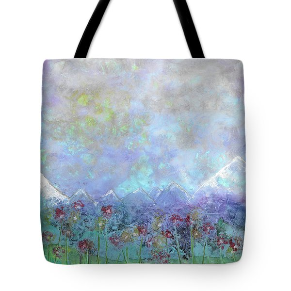 Mountain Valley Dew Tote Bag