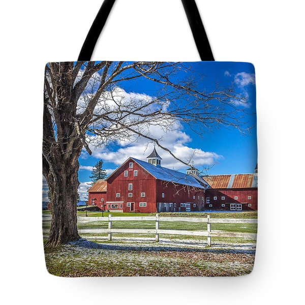 Mountain View Barn Tote Bag