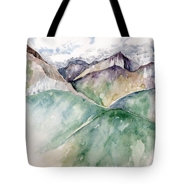 Mountain View Colorado Tote Bag
