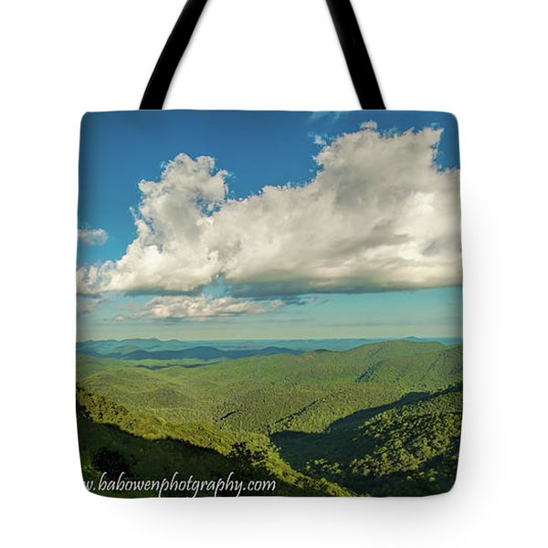 Mountain View From Preachers Rock Tote Bag