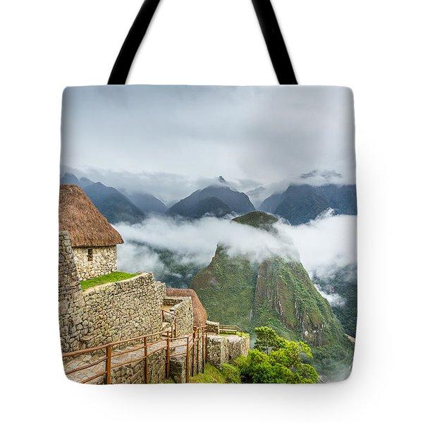 Mountain View. Tote Bag