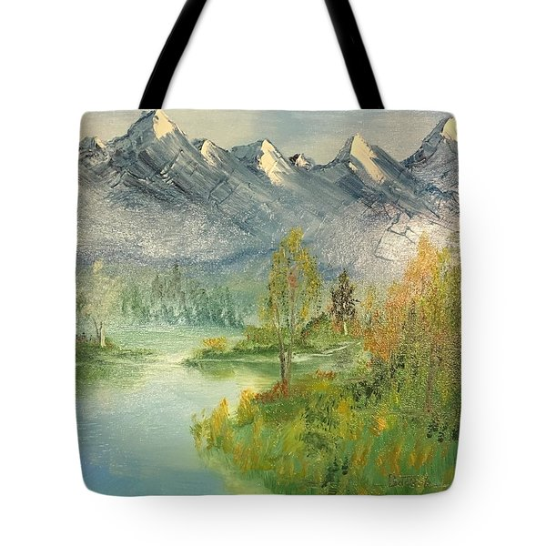 Mountain View Glen Tote Bag