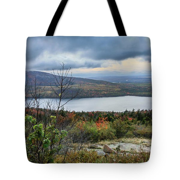 Mountain View Tote Bag by Jane Luxton