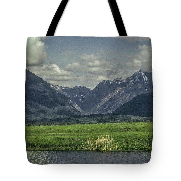 Mountain View Montana.... Tote Bag