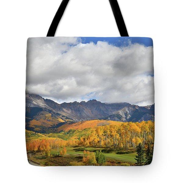 Mountain Village Telluride Tote Bag