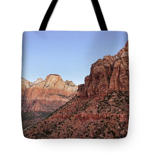 Mountain Vista At Zion Tote Bag