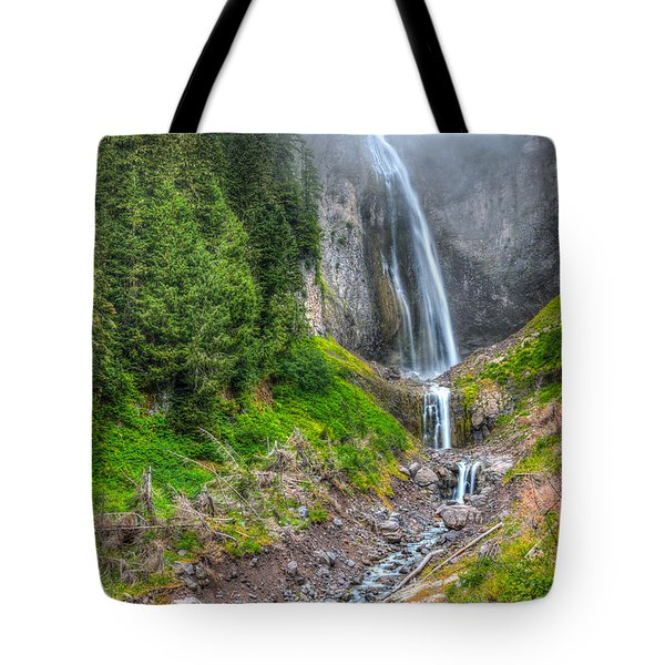 Mountain Waterfalls 5808 Tote Bag