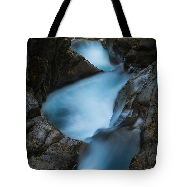 Mountain Waterfalls 5863 Tote Bag by Chris McKenna
