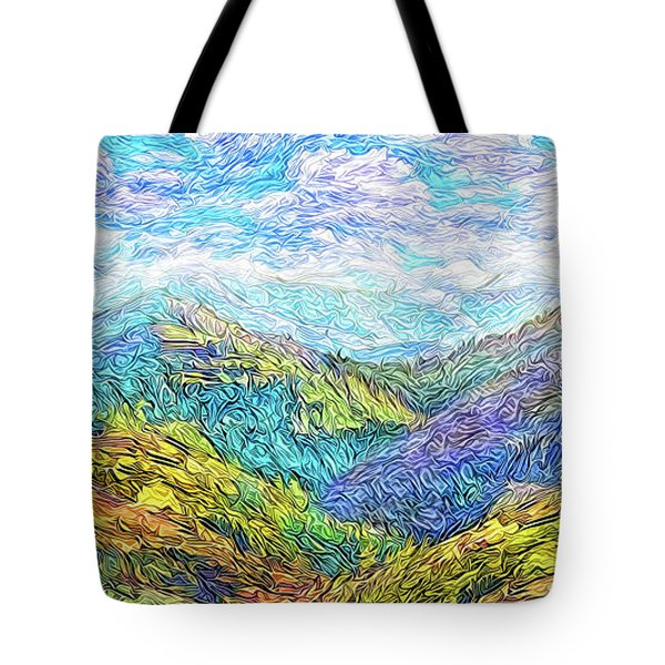 Mountain Waves - Boulder Colorado Vista Tote Bag by Joel Bruce Wallach