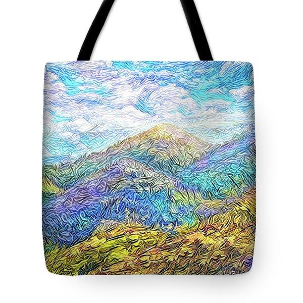 Mountain Waves - Boulder Colorado Vista Tote Bag
