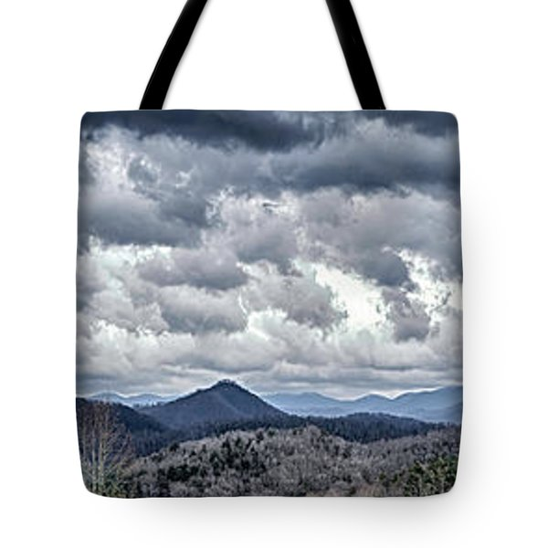Tote Bag featuring the photograph Mountains 1 by Walt Foegelle