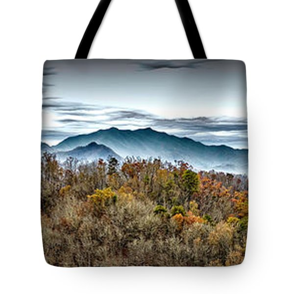 Tote Bag featuring the photograph Mountains 2 by Walt Foegelle