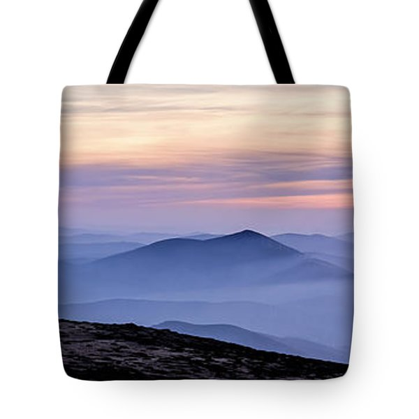 Mountains And Mist Tote Bag
