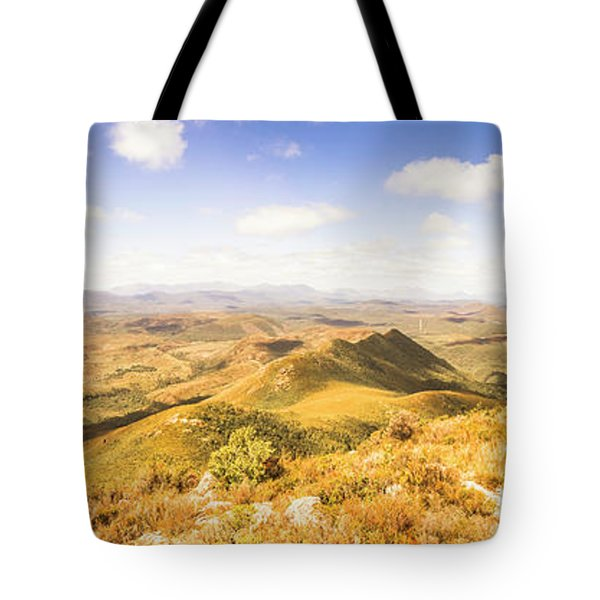 Mountains And Open Spaces Tote Bag