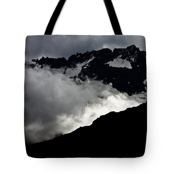 Mountains Clouds 9950 Tote Bag