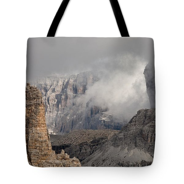 Mountains Depth 1150 Tote Bag