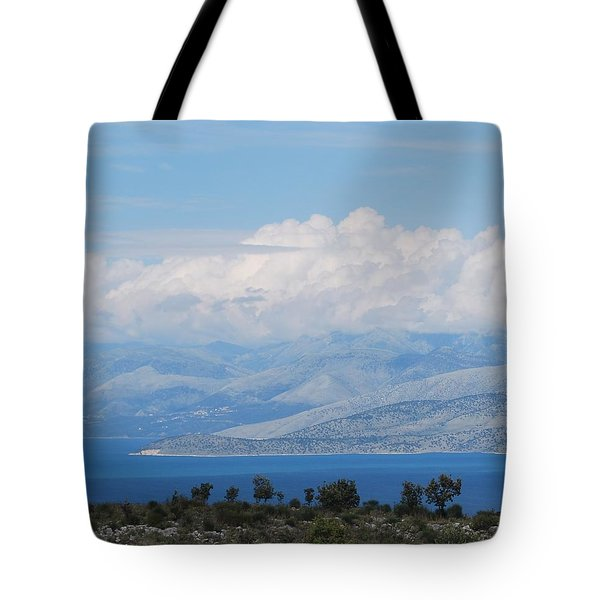 Mountains Far Away  3 Tote Bag