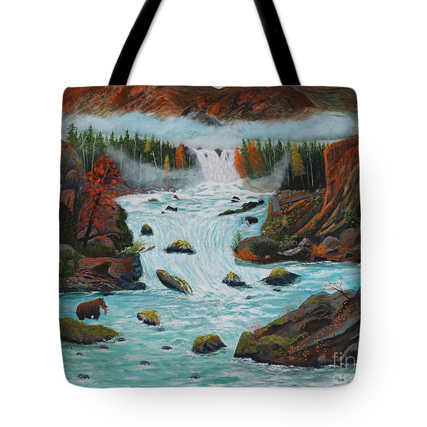 Mountains High Tote Bag