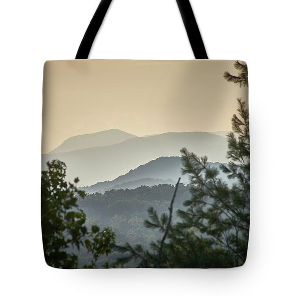 Mountains In The Distance Tote Bag