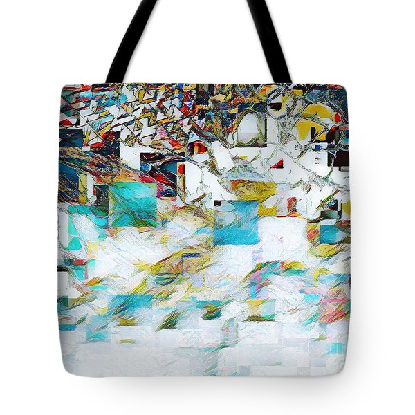 Snowy Mountains Tote Bag