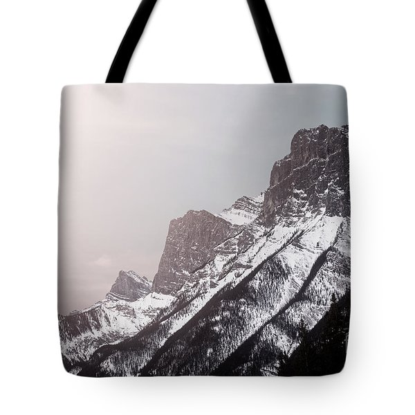 Mountains Of Might Tote Bag