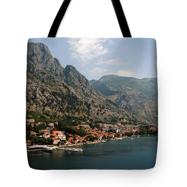 Mountains Of Montenegro Tote Bag