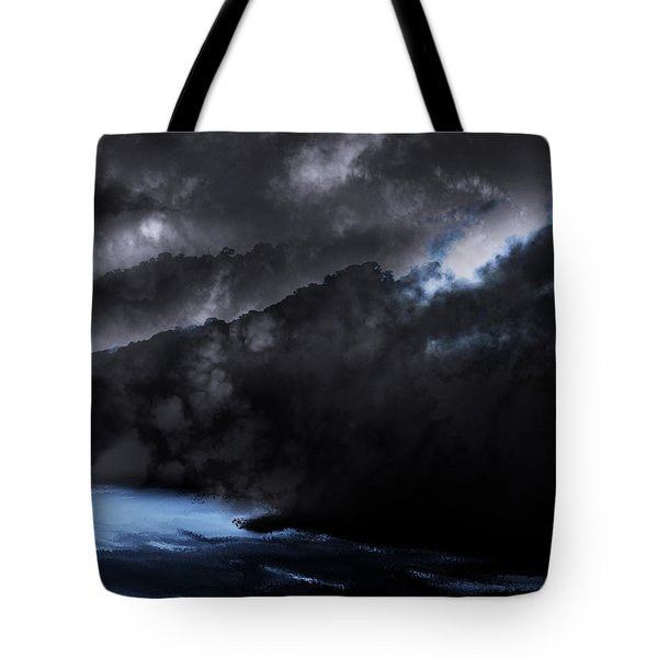Mountains Of The Blue Ridge Tote Bag by Gray  Artus