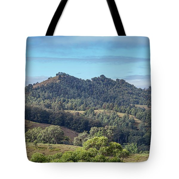 Mountains Of The Hunter Tote Bag