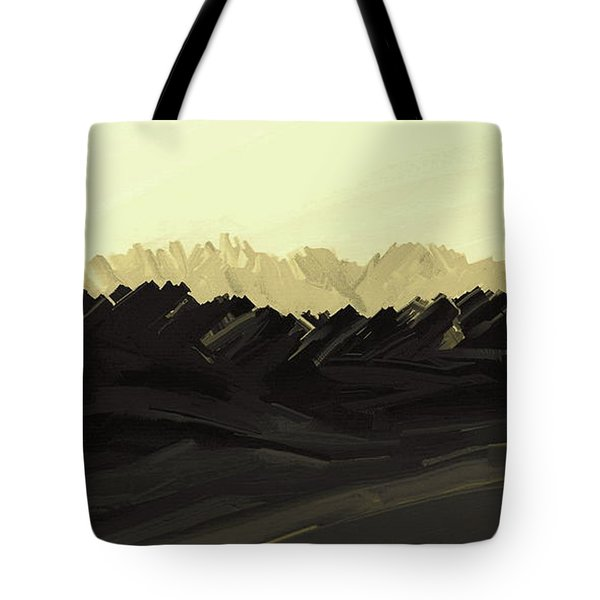Mountains Of The Mohave Tote Bag