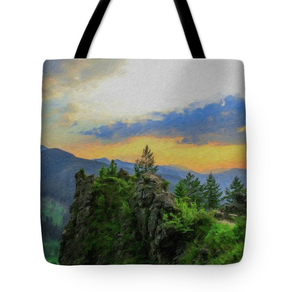 Mountains Tatry National Park - Pol1003778 Tote Bag