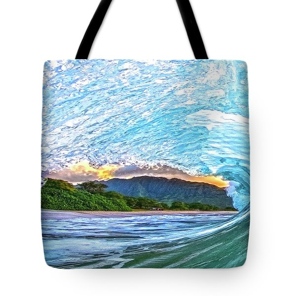 Mountains To The Sea Tote Bag