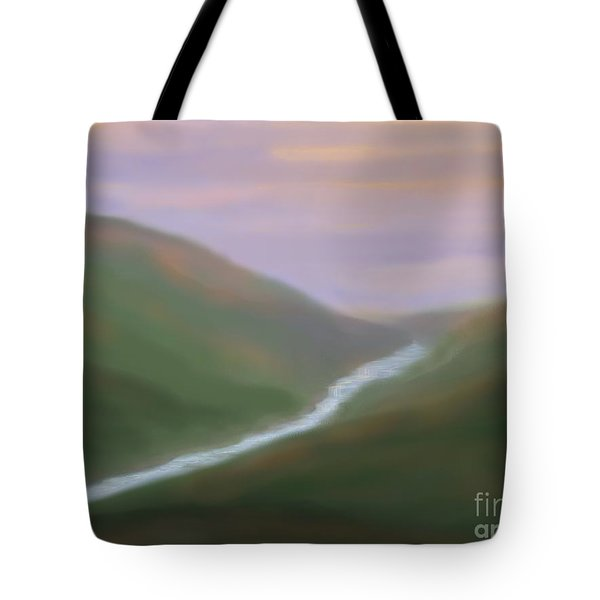 Mountainside Serenity Tote Bag