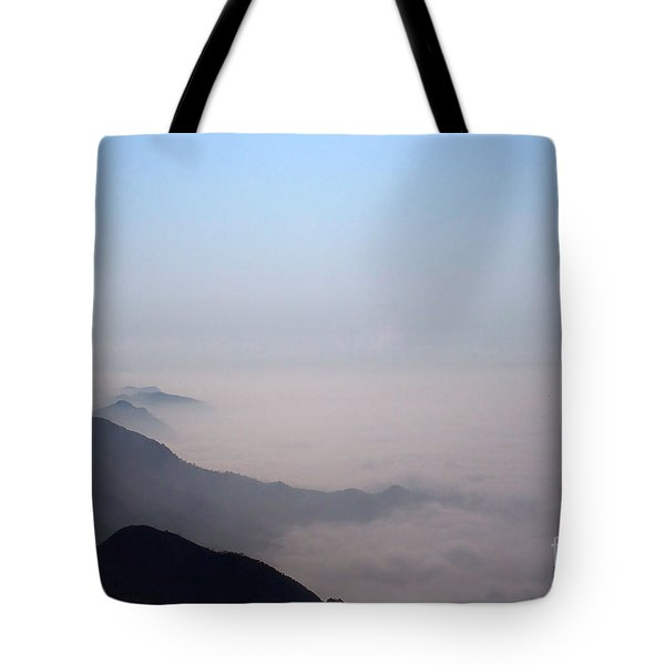 Mountaintop Vision Tote Bag