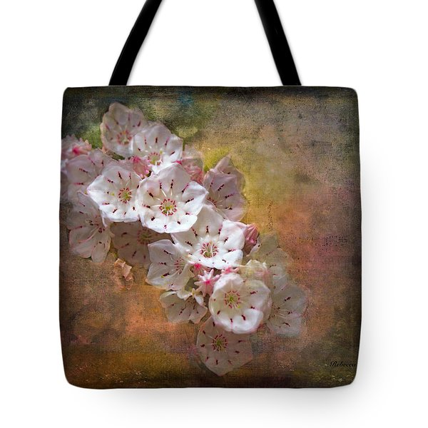 Mountain Laurel Tote Bag
