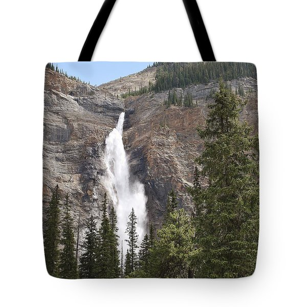 Mountian Water Tote Bag
