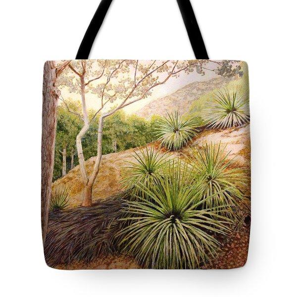 Mountian Yucca Tote Bag