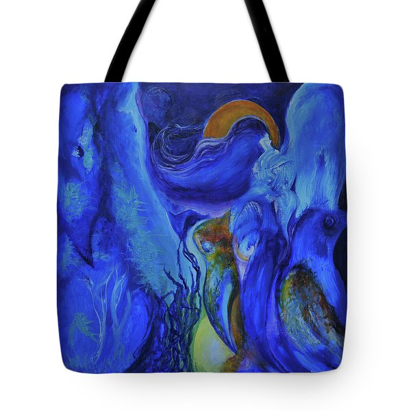 Mourning Birds Of The Final Flower Tote Bag