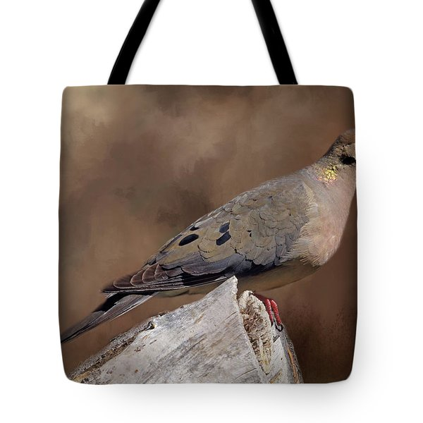 Tote Bag featuring the photograph Mourning Dove by Donna Kennedy
