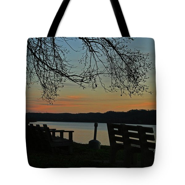 Mourning Silence Tote Bag