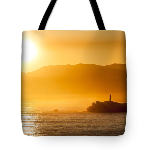 Mouro Island Tote Bag by Santi Carral