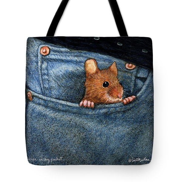 Mouse In My Pocket... Tote Bag