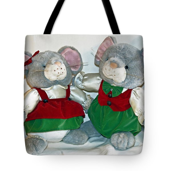 Mouse Love Tote Bag by Allan  Hughes