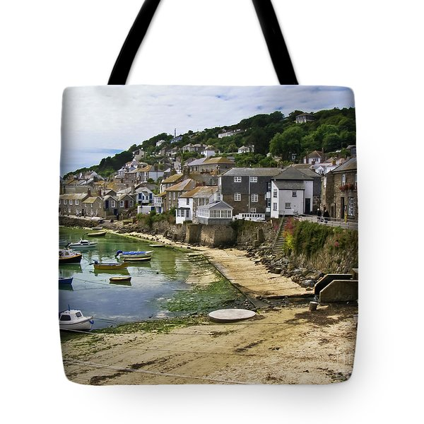 Mousehole Harbour, Cornwall Tote Bag
