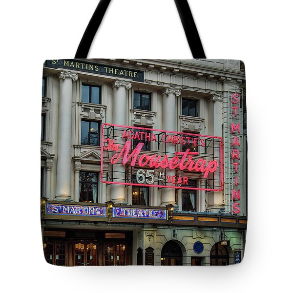 Mousetrap 65 Tote Bag